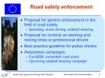 road safety enforcement