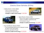 electric drive vehicles edvs
