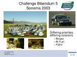 challenge bibendum 5 sonoma 2003