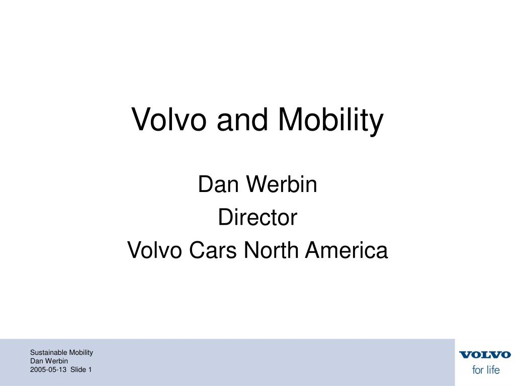 volvo and mobility l.
