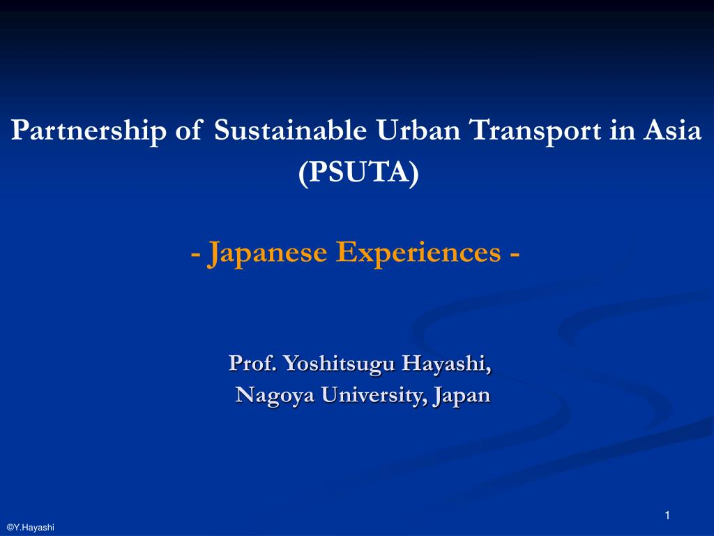 prof yoshitsugu hayashi nagoya university japan l.