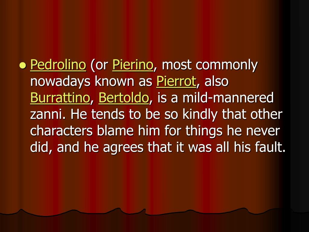 Pedrolino
