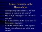 sexual behavior in the human male24