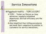 service innovations