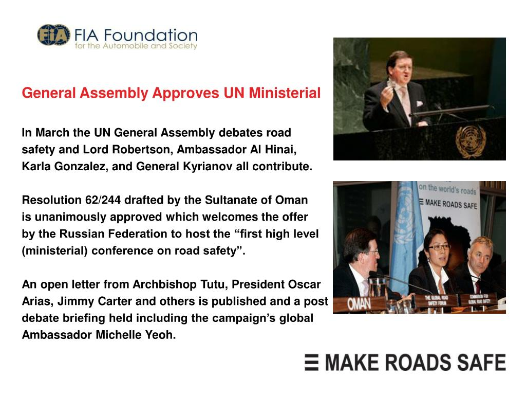 General Assembly Approves UN Ministerial