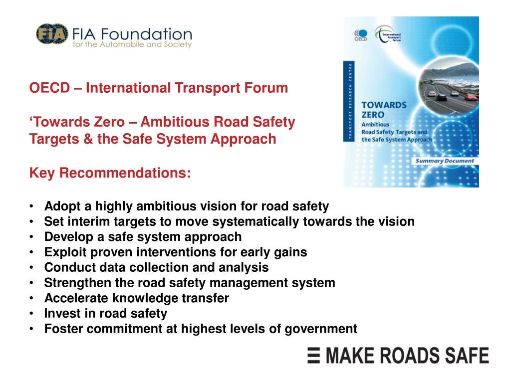 OECD – International Transport Forum