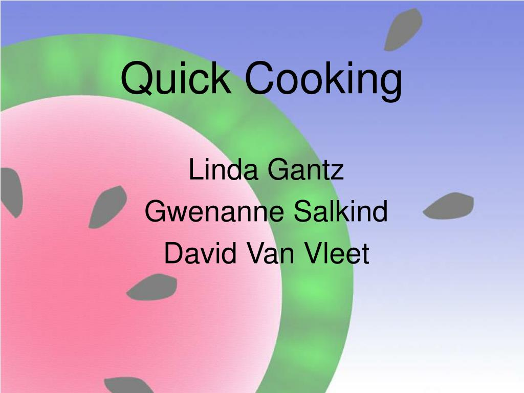 quick cooking l.