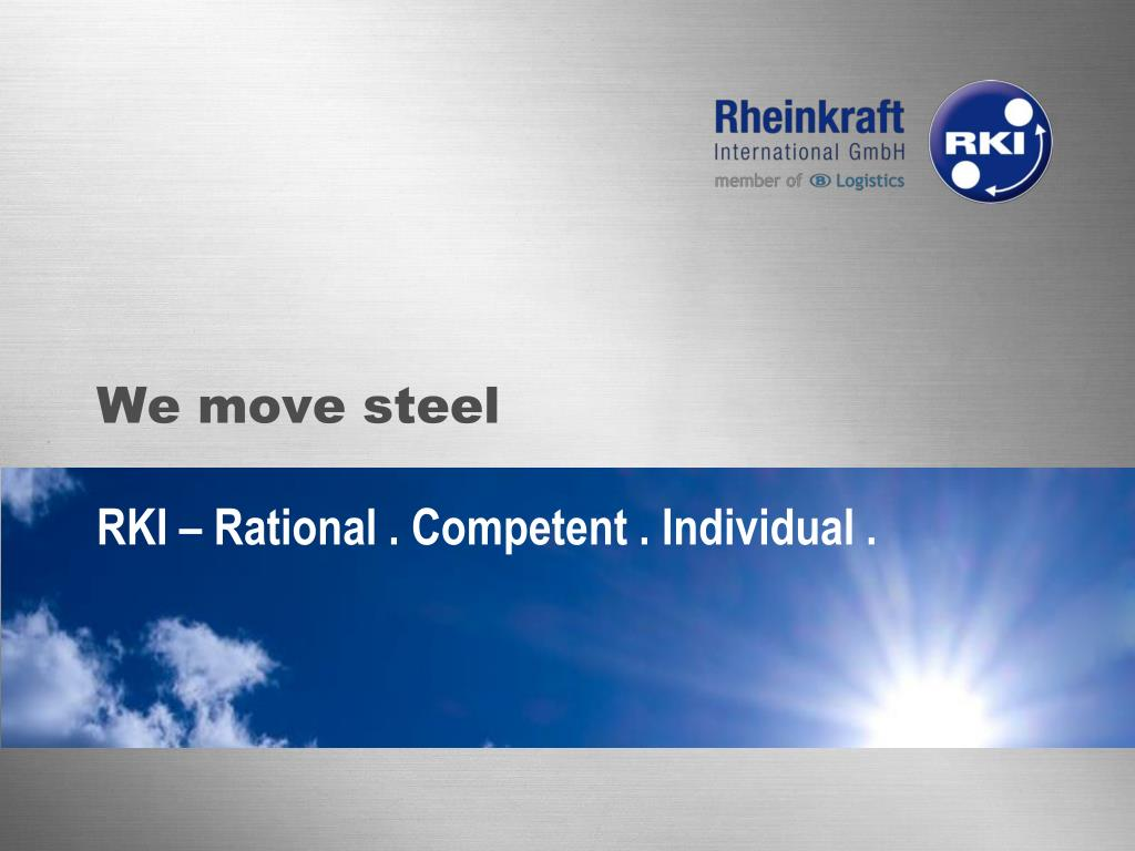we move steel l.