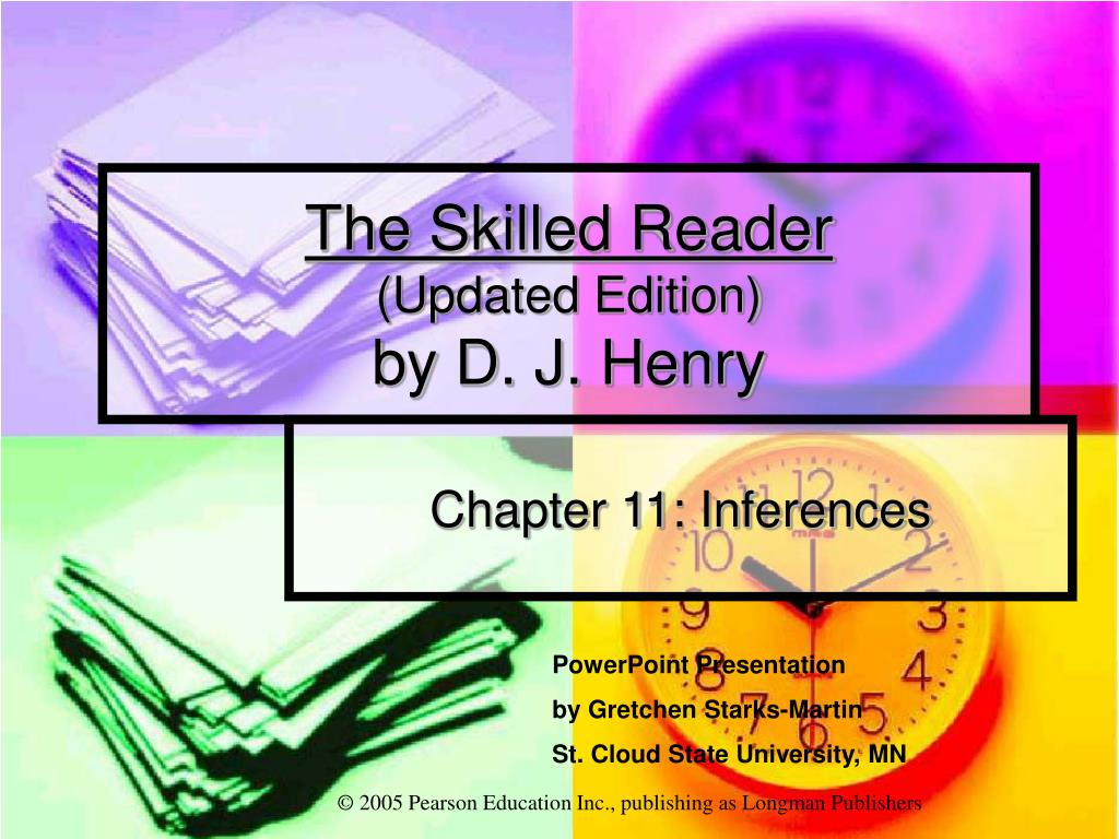 the skilled reader updated edition by d j henry l.