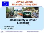 atvea launch brussels 27 may 2004