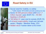 road safety in eu