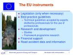 the eu instruments
