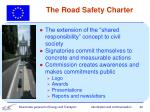 the road safety charter