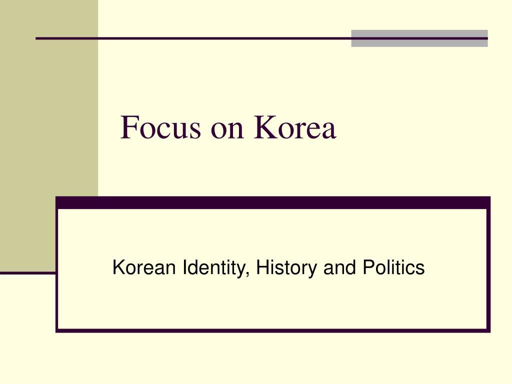 focus on korea l.