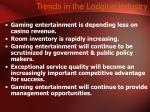 trends in the lodging industry