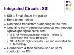 integrated circuits ssi