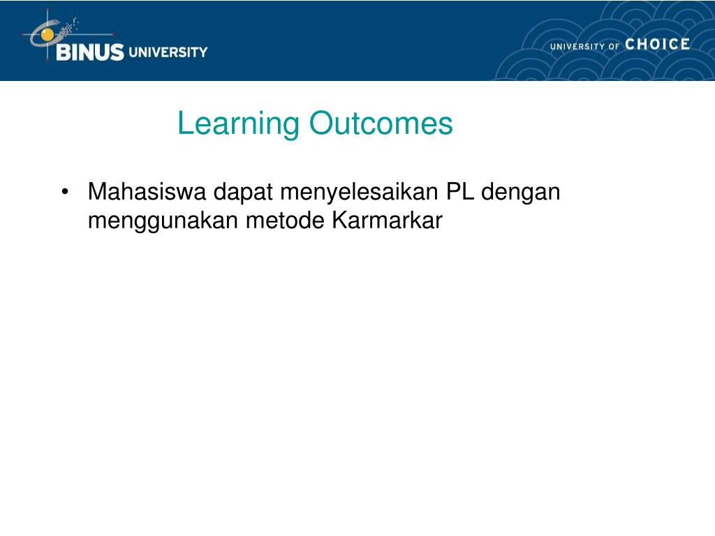 learning outcomes l.