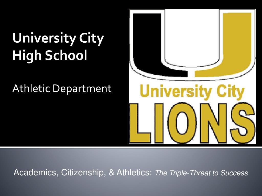 university city high school athletic department l.