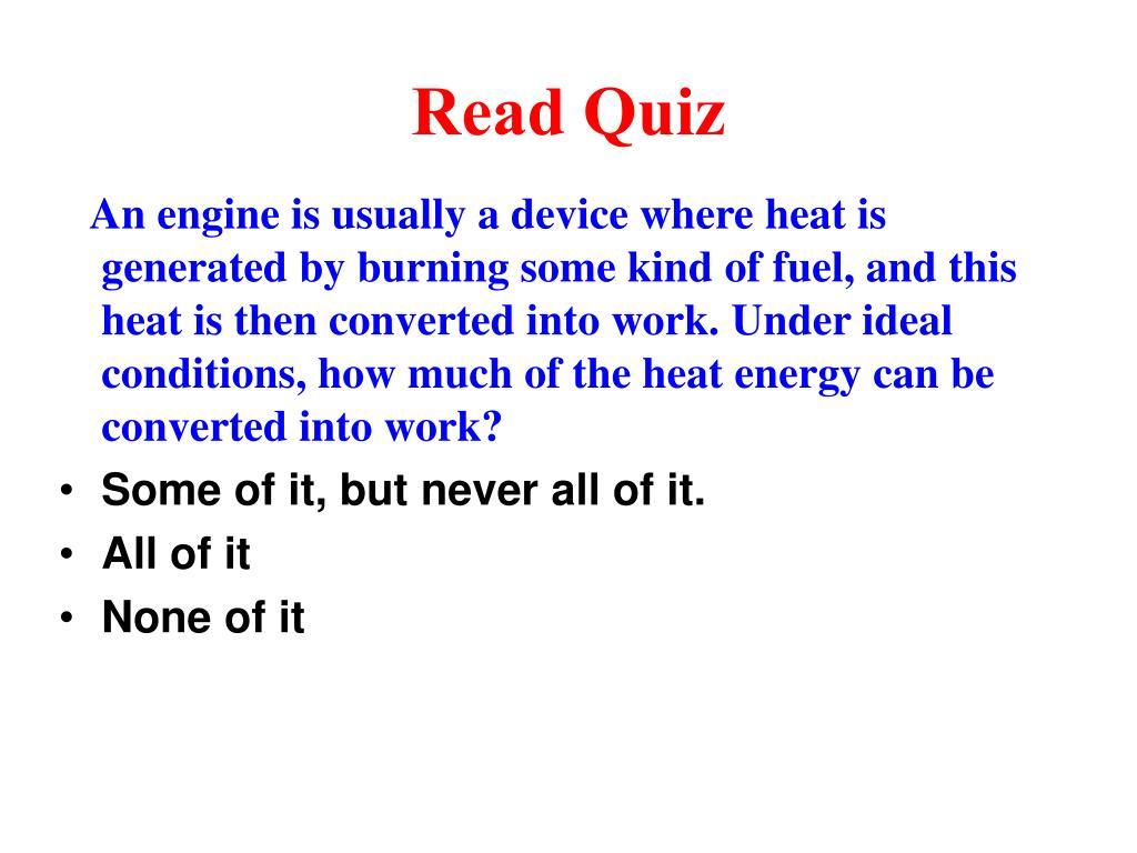 read quiz l.
