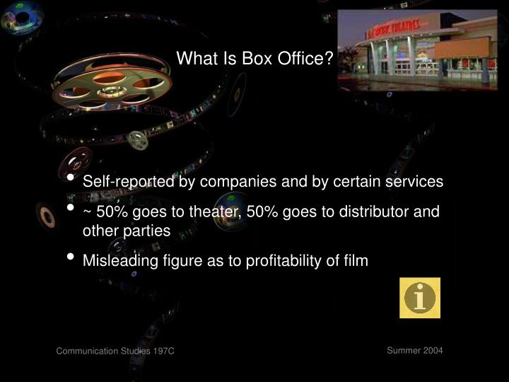 What Is Box Office?