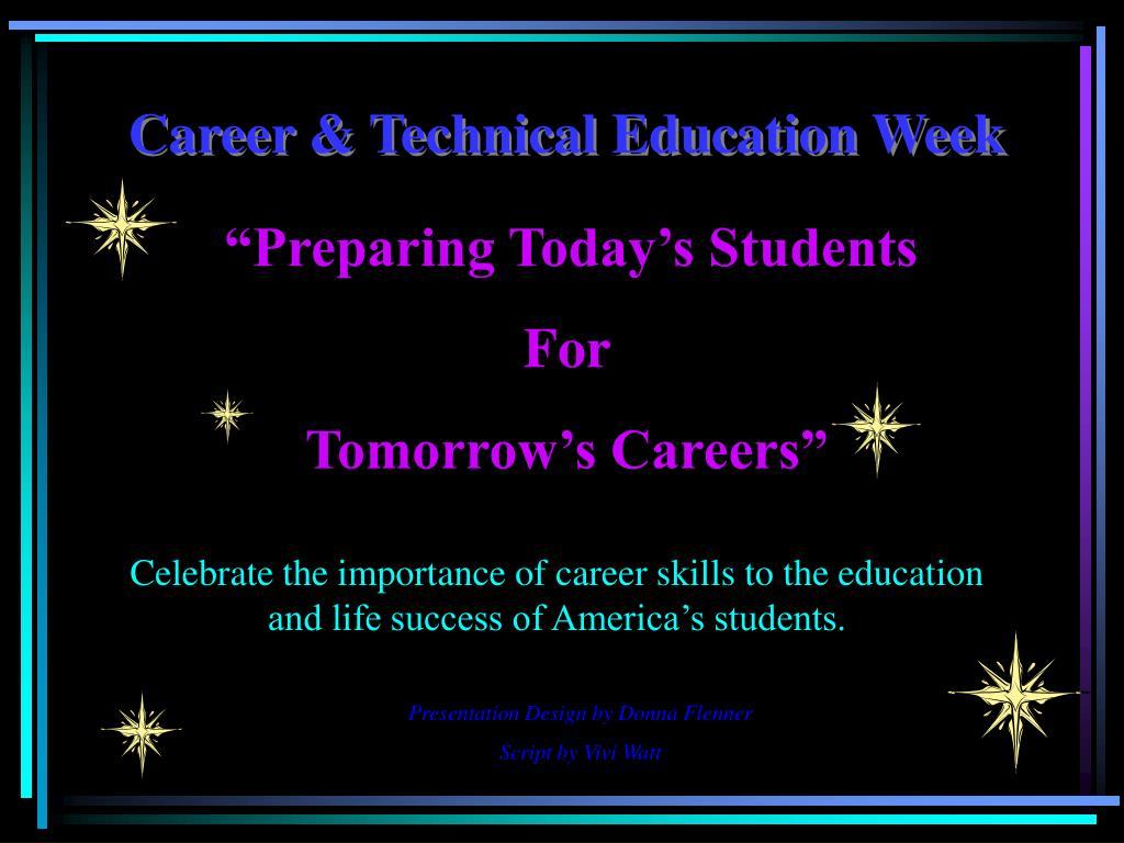 Career & Technical Education Week