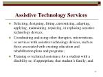 assistive technology services42