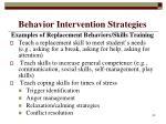 behavior intervention strategies33