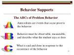 behavior supports29