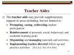 teacher aides65