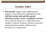 teacher aides67