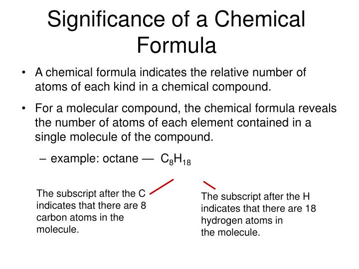 Ppt Chapter 7 Chemical Formulas And Chemical Compounds Powerpoint