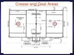 crease and goal areas