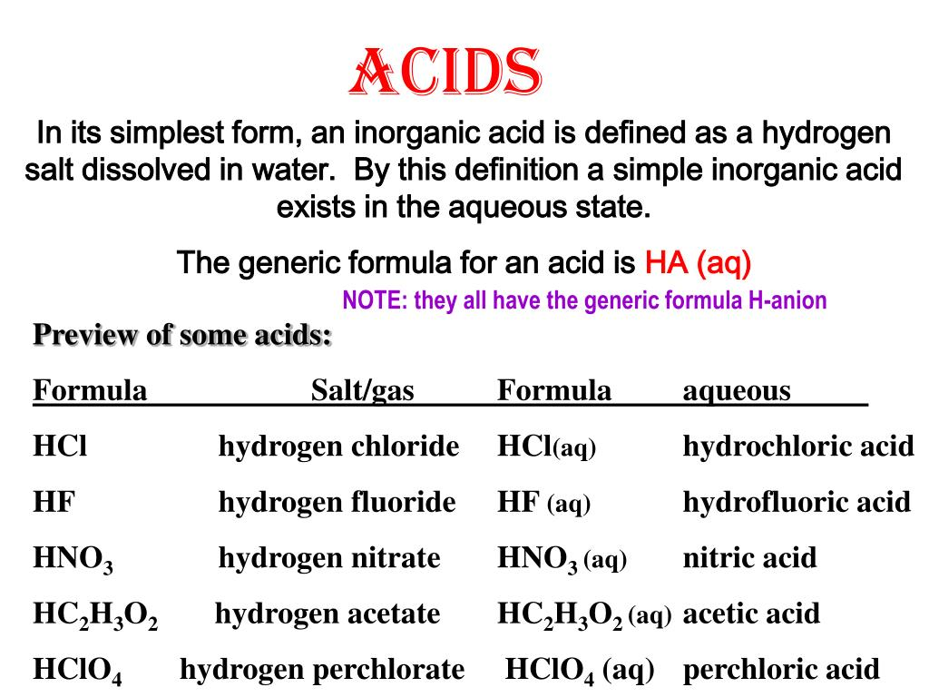 Ppt Acids Powerpoint Presentation Id596694