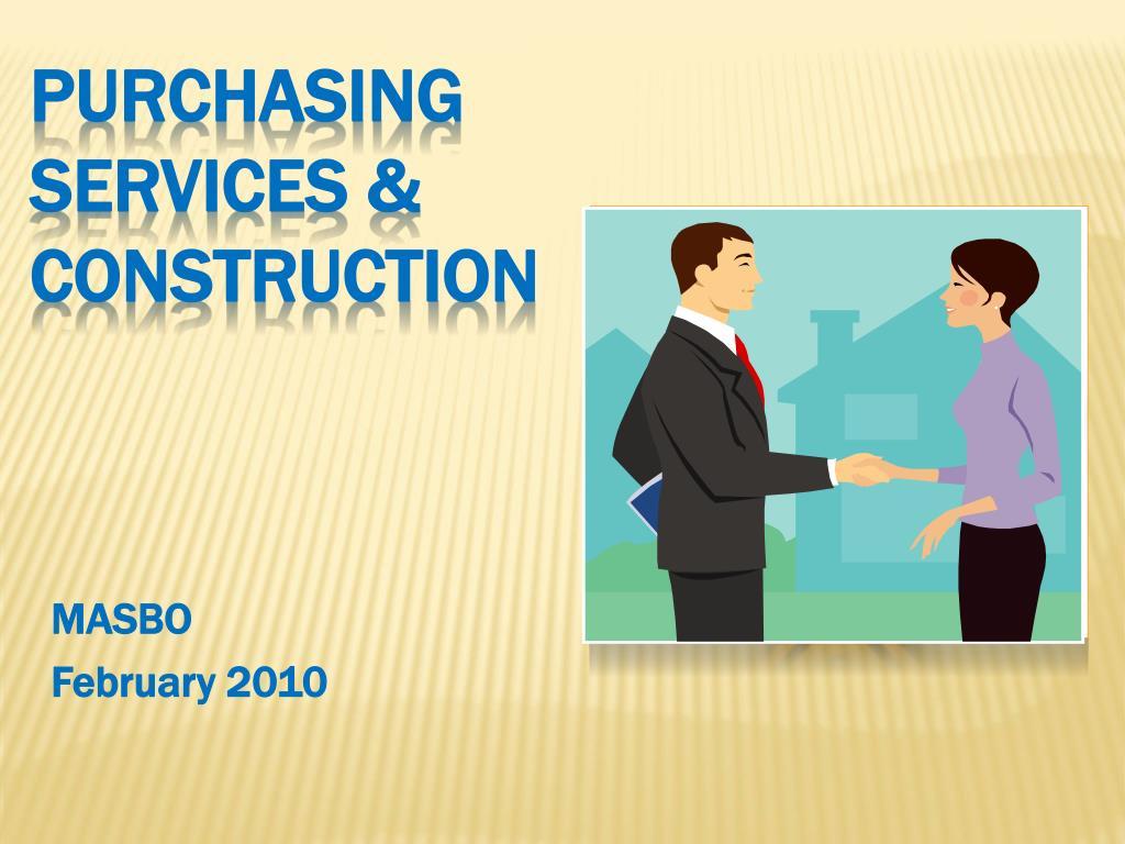 purchasing services construction l.
