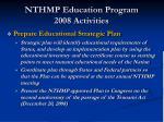 nthmp education program 2008 activities18