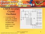 cmos inverter crystal oscillator