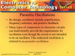 parasitic oscillations