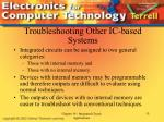 troubleshooting other ic based systems