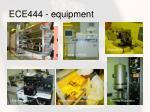 ece444 equipment