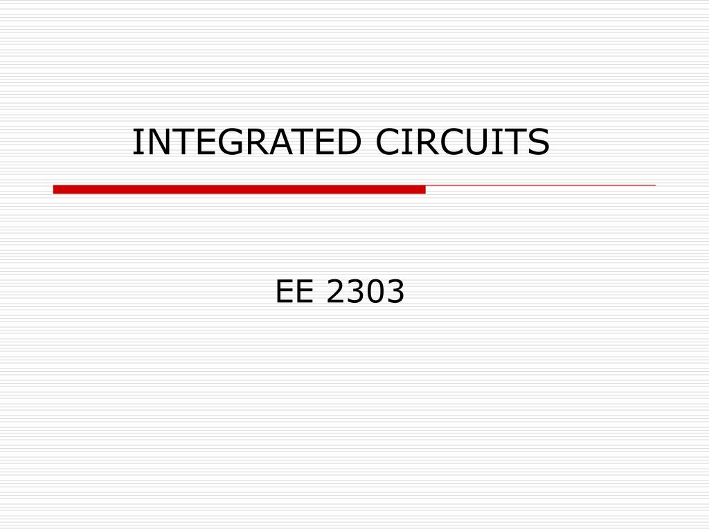 integrated circuits l.