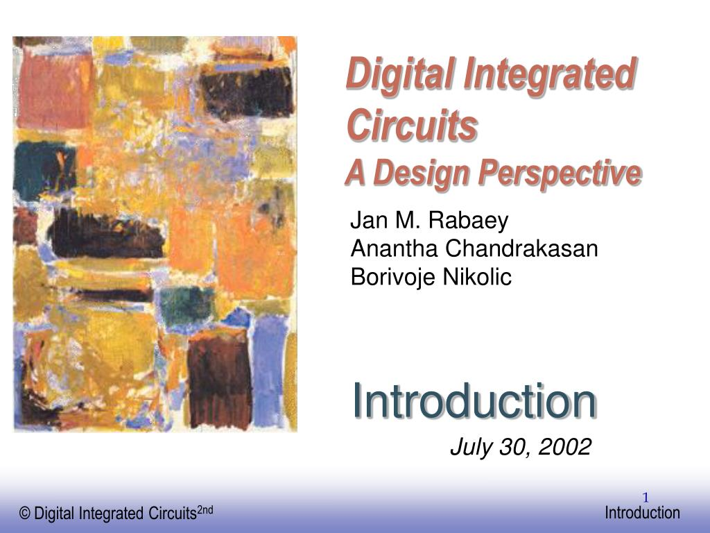 digital integrated circuits a design perspective l.