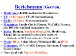 bertelsmann german