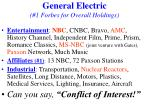general electric 1 forbes for overall holdings