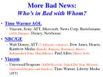 more bad news who s in bed with whom