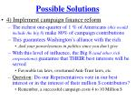 possible solutions2