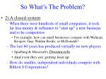 so what s the problem1