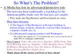 so what s the problem2