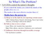 so what s the problem4