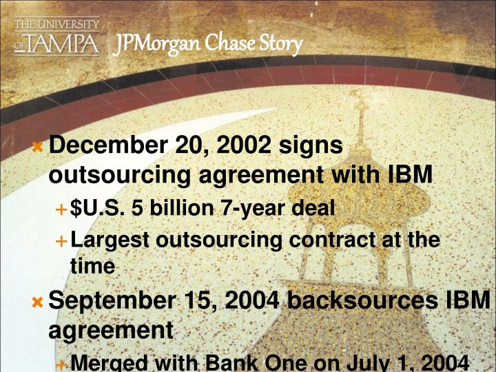 bharti what major concerns would you have about entering an outsourcing agreement with ibm with eric Please note: upon registering, you will receive an email confirmation closer to the fair, you will receive a link to your personal profile page.