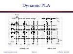 dynamic pla